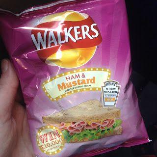Walkers Ham & Mustard Crisps