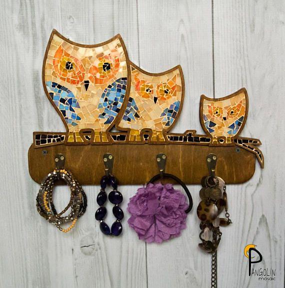 Owl Wall Decor Owl Wall Art owl wall hanging Key Holder