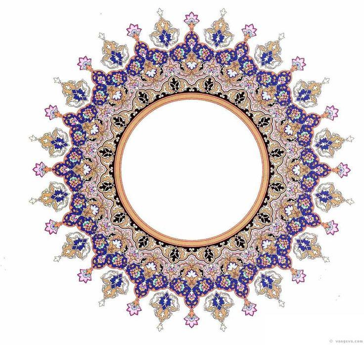 :::: ✿⊱╮☼ ☾ PINTEREST.COM christiancross ☀❤•♥•* :::: Persian Design 4