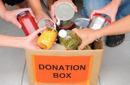 donating to charities