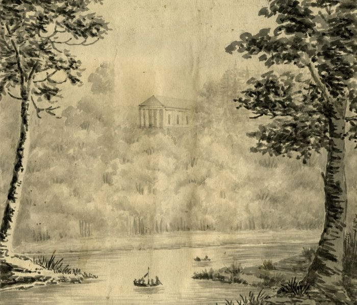 """Castle Frank"" (Toronto) in the Summer of 1796. : Toronto Public Library"