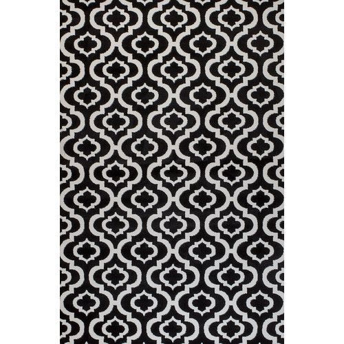 Found it at Wayfair - Summit Black Area Rug
