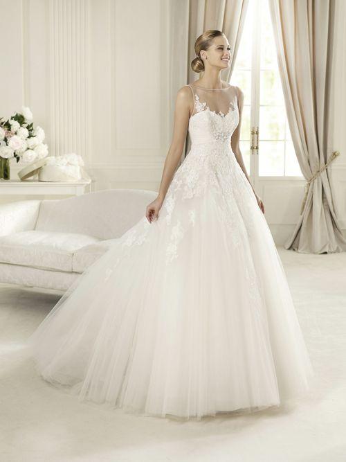 AMORE - luxusní tylové svatební šaty - 6 500 Kč