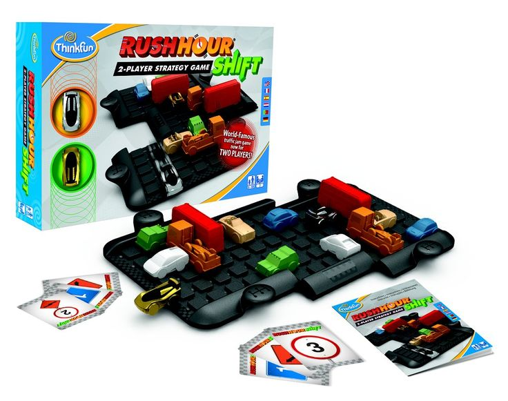 We've been playing Rush Hour since our kids were little, but it was always a solitary game (great for keepi...