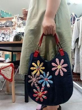 사연 많은 가방~ 사이토요코 님의 책에서 고른 어느 가방 하나 막샹하려니 아플이 너무 작아 수강생들 보호...