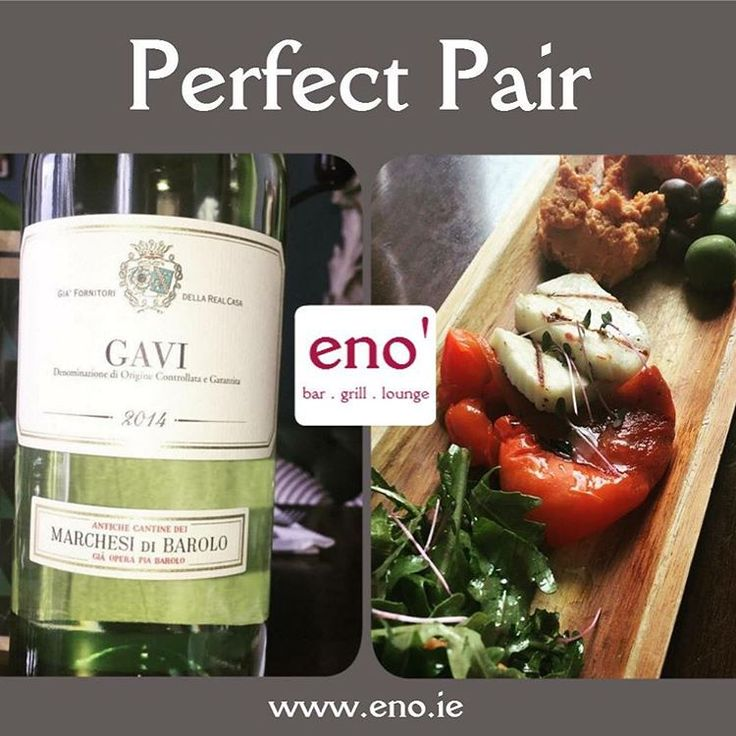 """Introducing """"GAVI"""" (from Northern Italy) from our BRAND NEW wine list which has has officially landed on your tables. We've got lots of new & great quality wines at very affordable prices :) This wine is great paired w/ ricotta stuffed mushrooms, our famous bruschetta or our fresh ravioli! Chin Chin!  #eatateno #shoplocaldlk #lovefood #foodporn #dundalk  #ireland  #touristdundalk #touristireland #newwines  #teameno  #retrovino #shoplocaldlk #dundalk #lovefood #instawine #ireland…"""