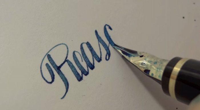 「ずっと見ていられる」と世界中で大人気!日本の高級万年筆の試し書き動画に惹き込まれる