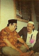 Gus Dur & As syaikh Umar  Faruq bin Imam kholil