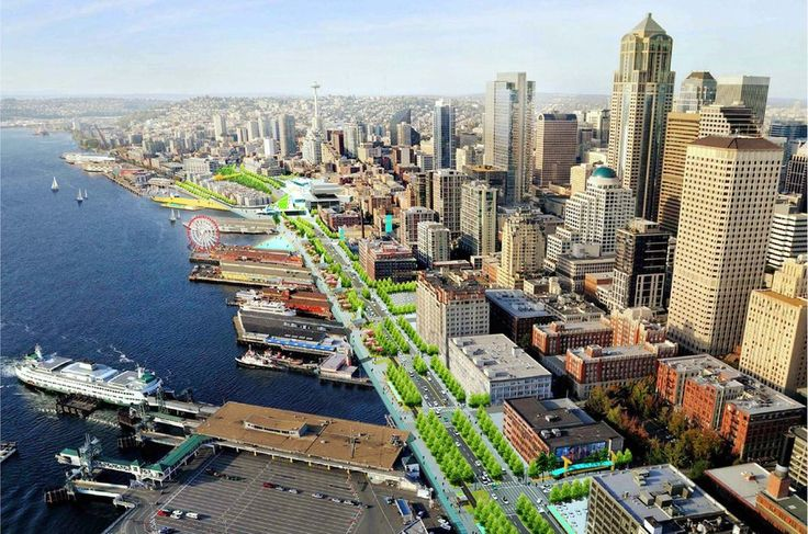 Seattle Central Waterfront   Architect Magazine   James Corner Field Operations, Seattle, Community, Community Projects
