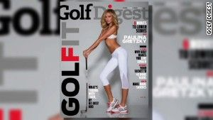 Paulina Gretzky's controversial Golf Digest cover