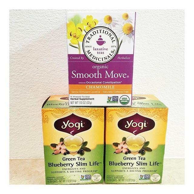 Smooth Move and Yogi Tea