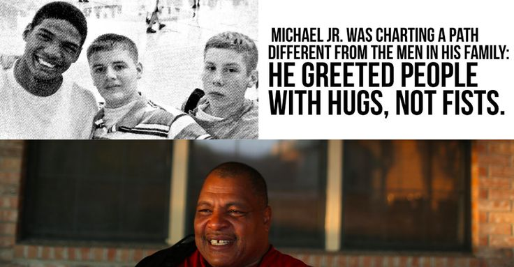 Michael Sam Jr. doesn't talk to his father, who has been caricatured in the press as an anti-gay man who abandoned his family. But there's a lot more to the story.