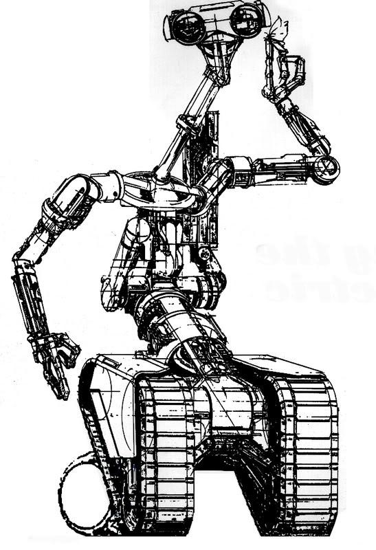 чертежи роботов с картинками начале января