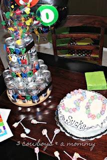 30th birthday cake & 30 beer cake