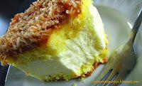 Impresja smaku...: Ciasto Wenezuela z masą cytrynową, dżemem morelowym i wiórkami kokosowymi (dla gości)