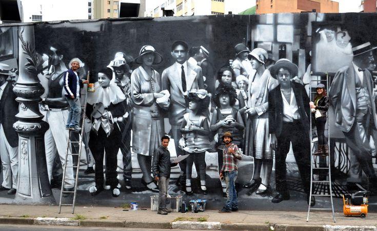 City ✤ Past + Present ✤ Graphite (Dudão) ✤
