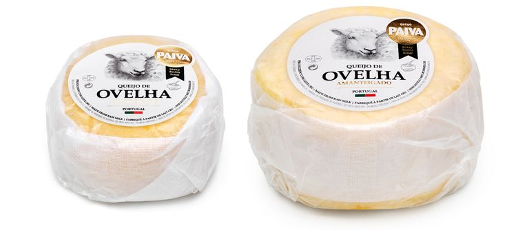Gama premium Paiva #packaging #design #food #cheese #sheep #premium #gourmet #gold
