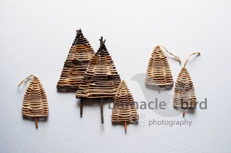 Willow Christmas trees - learn how to make your own christmas trees and much…