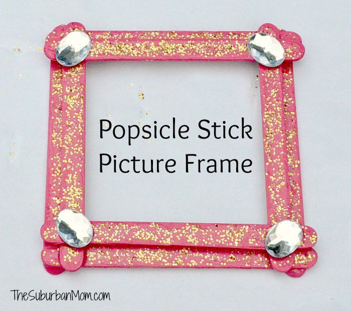 Best 25 popsicle stick picture frame ideas on pinterest for Popsicle stick picture frame christmas