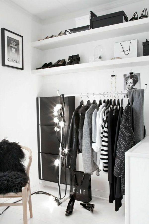 Die besten 25+ Selber bauen begehbarer kleiderschrank Ideen auf - begehbarer kleiderschrank system modern