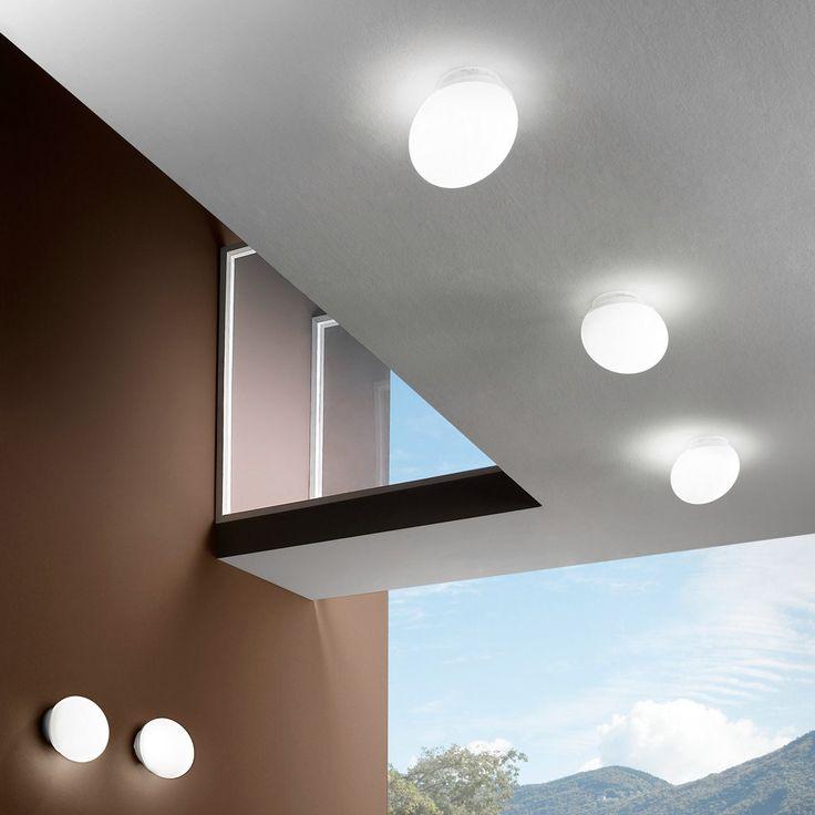 Goccia parete - soffitto - Linea Light  - Soffitto - Progetti in Luce