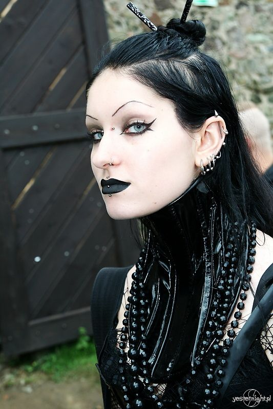 goth gothic women lady girl