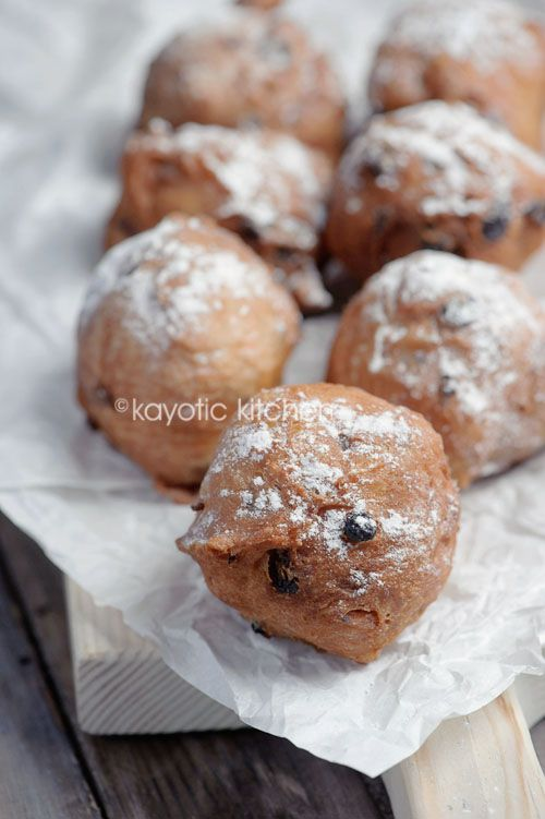 Oliebollen _ What can I say about oliebollen? No new years eve will ever be complete without this doughnut-like pastry that's so firmly embedded into our Dutch culture.