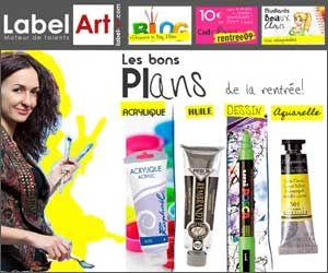 Label Art – Fournitures Beaux-Arts au meilleur prix. Des tarifs attractifs, des ventes groupées et une animation du site par une artiste peintre. À voir