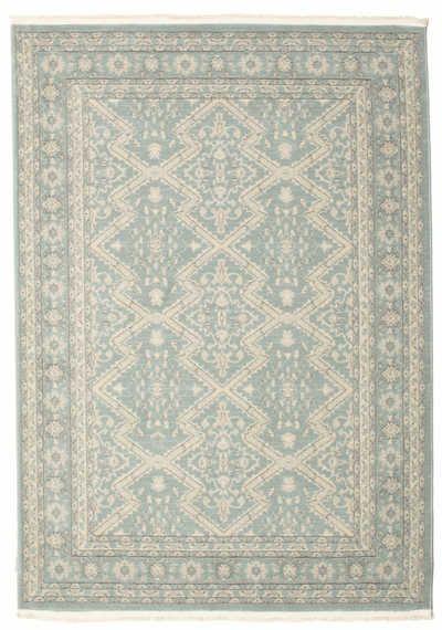 Estas hermosas alfombras orientales son réplicas de las muy populares alfombras Ziegler, originarias de la Persia antigua.  El dibujo de las alfombras tiene su origen en alfombras antiguas y, con frecuencia, estas alfombras tienen patrones cromáticos más claros que otras alfombras orientales.