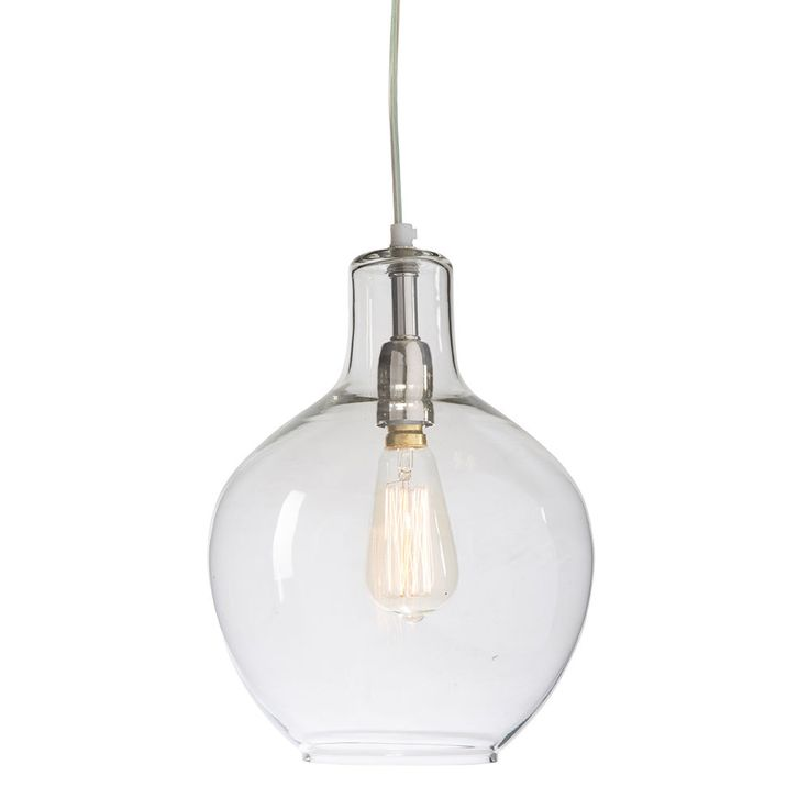 Classic Pendant Antique Light   Silver   23x30cm   The Big Lighting Sale @ The Home