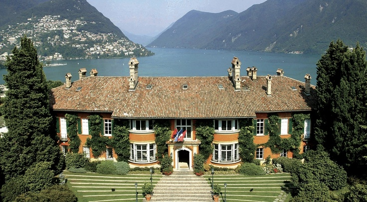 The Prinicipe Leopoldo is an immensely elegant luxury hotel in Lugano with a great location on the edge of the lake. It would make a great choice for a romantic weekend or even for your honeymoon. Amazing service and a deluxe spa will guarantee your stay is truly memorable.