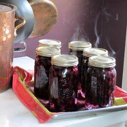 Thumbnail image for Canning Fresh Blueberries at Masala Farm with Suvir Saran