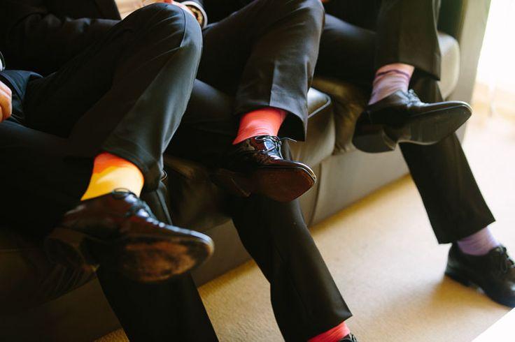 Coloured socks  Photo by Kit Haselden www.kithaselden.com