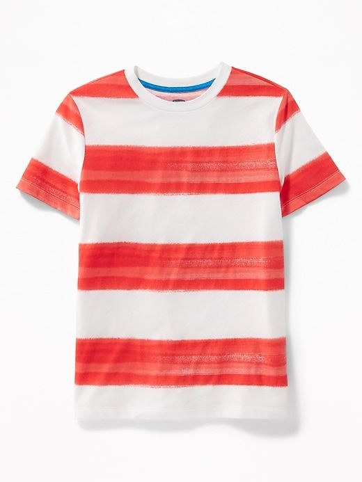 7b0a2e823cf9 Striped Crew-Neck Tee for Boys   For Ethan in 2019   Mens tops, Boys ...