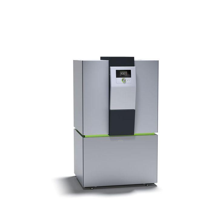 x-change WPLI Luft/Wasser-Wärmepumpe Innenaufstellung - entzieht der Umgebungsluft thermische Energie und wandelt sie in Heizungswärme um.