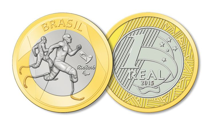 Atletism Coin Brazilian Real Brazil 2016 Rio Olympic Summer Games Special Ed   eBay