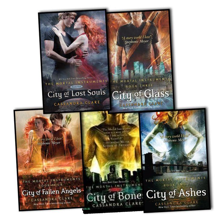 Cassandra Clare Mortal Instruments 5 Books City Of Bones, City Of Ashes, City Of