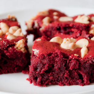 Red velvet brownie recipe with cake mix