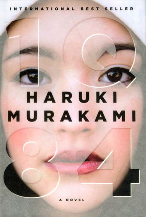 1Q84, Haruki Murakami book cover: Designed by Chip Kidd