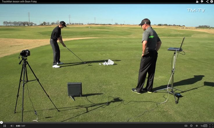 TrackMan Video lesson With Golf Pro Sean Foley - Free Golf Instruction Videos