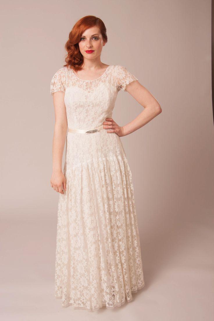 267 best Elizabeth Avey. Online and pop up Vintage wedding dress ...
