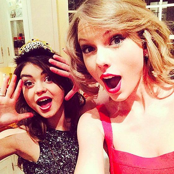 Taylor Swift ans galpal Sarah Hyland