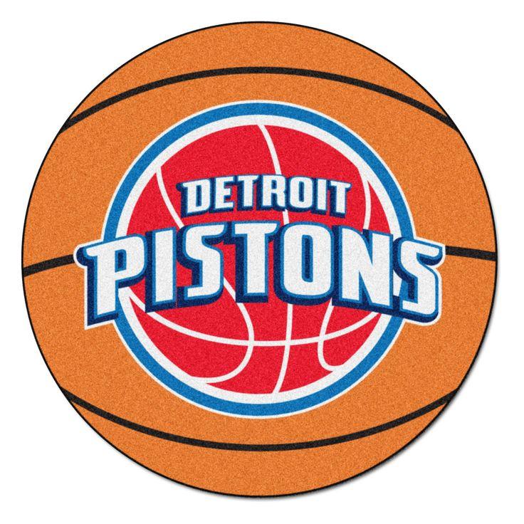 NBA Detroit Pistons Basketball Mat 27 Diameter