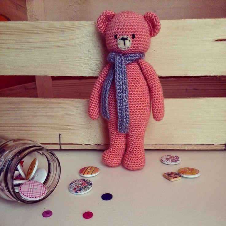 amigurumi bear Tombö atelier: Tony el osito