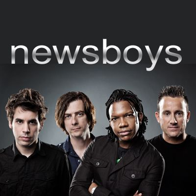 Newsboys...Duncan Phillips (drummer) on the far right.