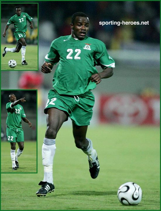 James Chamanga - Zambia - African Cup of Nations 2006