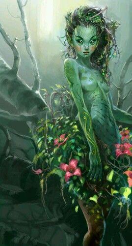 Forest fairy concept art