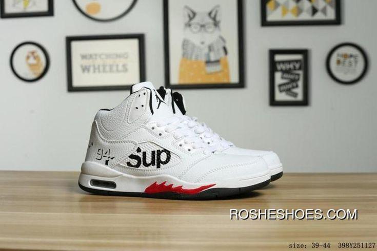 Nike Air Jordan 5 Future Supreme Collaboration Aj5 5 High Sport Basketball Shoes 398Y251127 Best