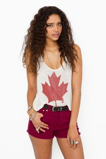 cute canada day outfit