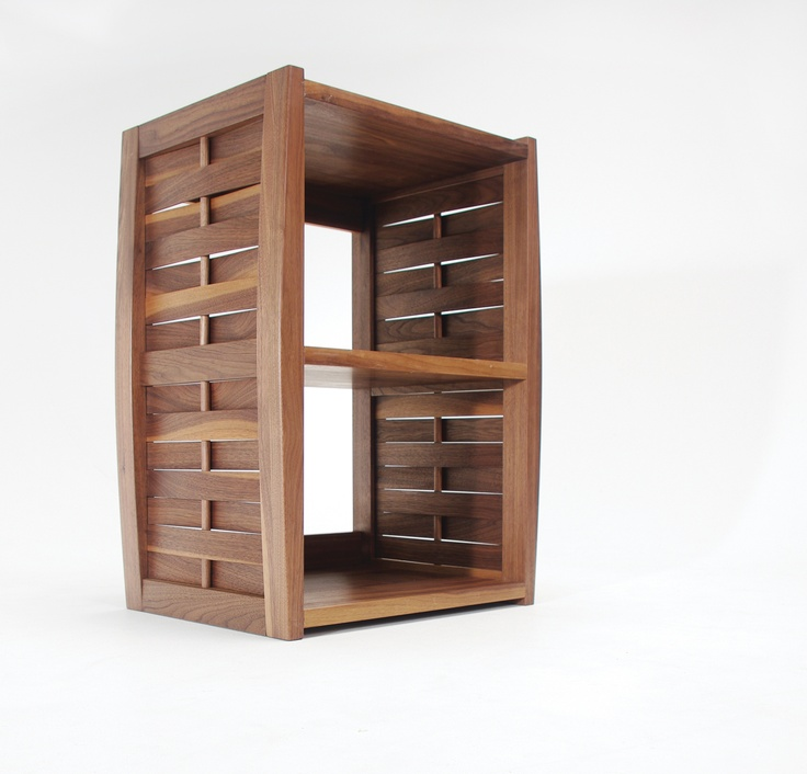 Janghoon Moon© 'Bird house Shelf' walnut finishing, hand-rubbed varnish